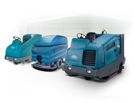 Commercial Floor Scrubber & Sweeper Inventory