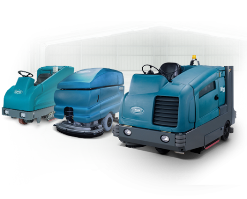 Rent an Industrial Floor Scrubber