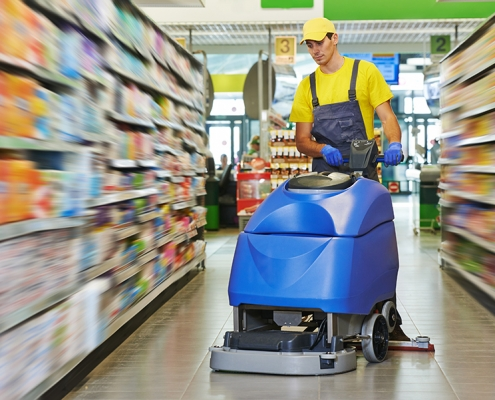 janitorial floor cleaner rental