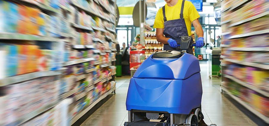 janitorial floor cleaner rental