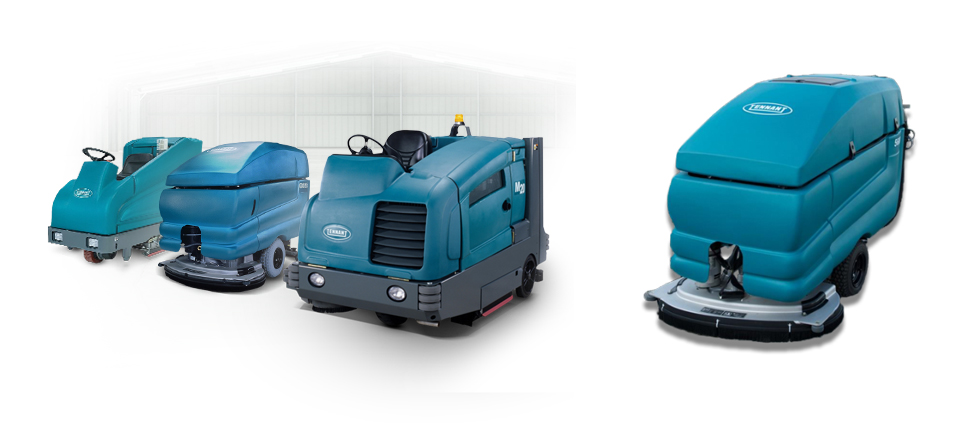 KwikFix Depot rider vs walk behind floor cleaning machines