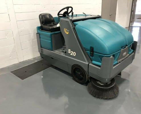 KwikFix Depot Ride-On Floor Scrubber or Sweeper